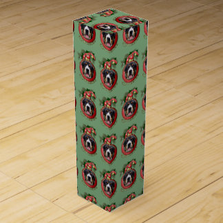 クリスマス-デッキホール- Swissies ワインギフトボックス