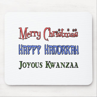 クリスマス-ハヌカー- Kwanzaa マウスパッド