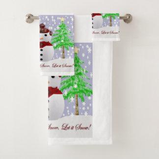 クリスマス バスタオルセット