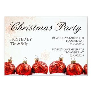 クリスマス・パーティの招待 カード