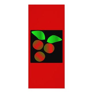 クリスマス ヒイラギ II 10.2 X 23.5 インビテーションカード