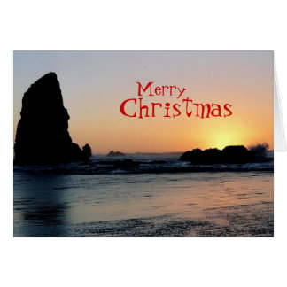 クリスマス(ビーチ)カード カード