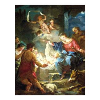 クリスマス-ピエールのための出生場面 チラシ