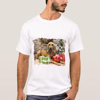 クリスマス-ブラッドハウンド- Penney Tシャツ