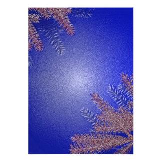 クリスマス ポインセチア 青い I