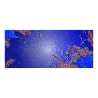 クリスマス ポインセチア 青い II