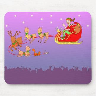 クリスマス マウスパッド