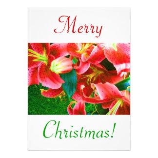 クリスマス ユリ III