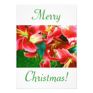 クリスマス ユリ V