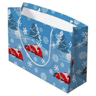 クリスマス ラージペーパーバッグ