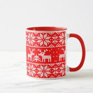 クリスマス。 冬 マグカップ