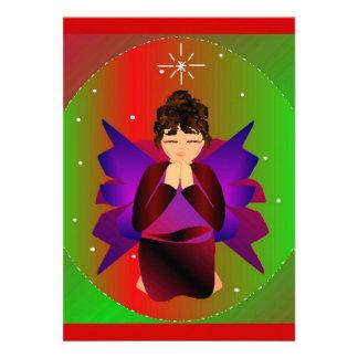クリスマス 天使 赤ん坊 女 子 祈ること