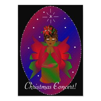 クリスマス|天使 12.7 X 17.8 インビテーションカード