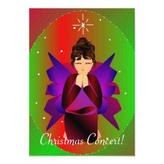 クリスマス|天使|I 12.7 X 17.8 インビテーションカード