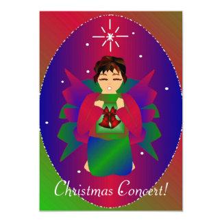 クリスマス|天使|III 12.7 X 17.8 インビテーションカード