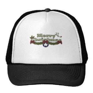クリスマス、空軍服装 メッシュ帽子