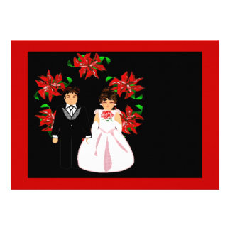 クリスマス 結婚 カップル リース 赤い 紫色