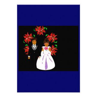 クリスマス 結婚 カップル リース 青い
