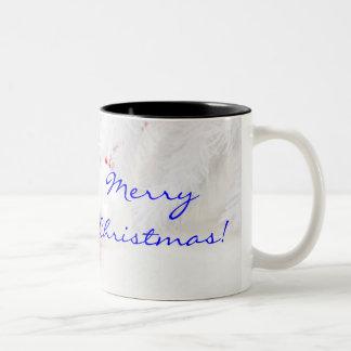 クリスマス|赤い|白い|メリー|II ツートーンマグカップ
