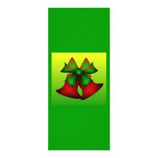 クリスマス|鐘|I 10.2 X 23.5 インビテーションカード