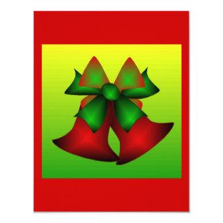 クリスマス|鐘|II 10.8 X 14 インビテーションカード