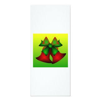 クリスマス|鐘|III 10.2 X 23.5 インビテーションカード
