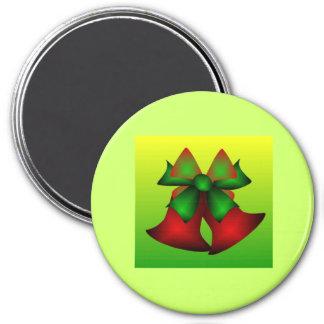 クリスマス 鐘 V 冷蔵庫用マグネット