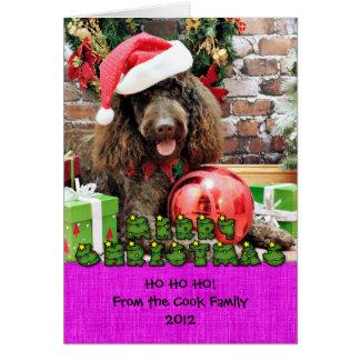 クリスマス- LabraDoodle -ハーレー カード