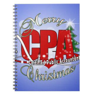 クリスマスCPAの米国公認会計士 ノートブック