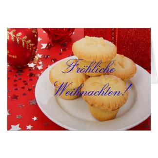 クリスマスFröhliche Weihnachten II グリーティングカード