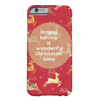 「クリスマスFun Barely There iPhone 6 ケース