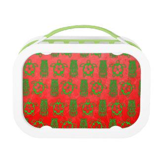 クリスマスHonuおよびTiki ランチボックス