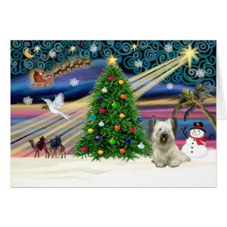 クリスマスMagicSkyeライト グリーティングカード