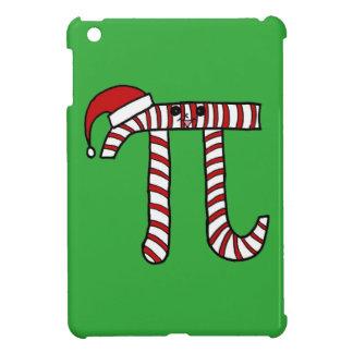 クリスマスPiのマンガのキャラクタ(赤い) iPad Miniケース