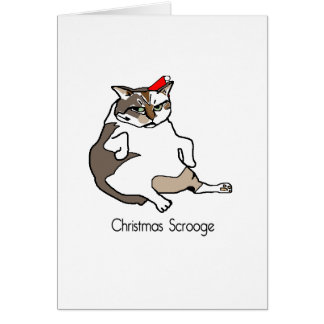 クリスマスScrooge グリーティングカード