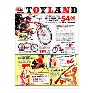 クリスマスToyland ポストカード