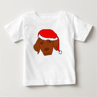 クリスマスVizsla ベビーTシャツ