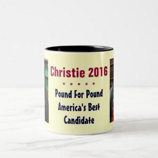 クリスChristieの2016年のコーヒー・マグ ツートーンマグカップ