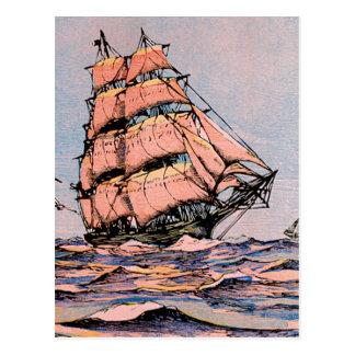 クリッパー船アンMcKim ポストカード