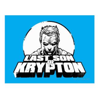 クリプトンのスーパーマンの最後の息子 ポストカード