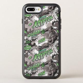 クリプトンの緑および灰色 オッターボックスシンメトリーiPhone 8 PLUS/7 PLUSケース