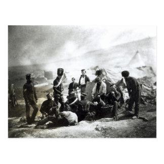 クリミアの兵士、c.1855 ポストカード