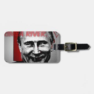 クリミアの川のPutinのイメージ バッグタグ