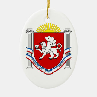 クリミアの紋章 セラミックオーナメント