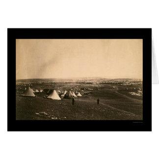 クリミア戦争のキャンプおよび軽い組1855年 カード