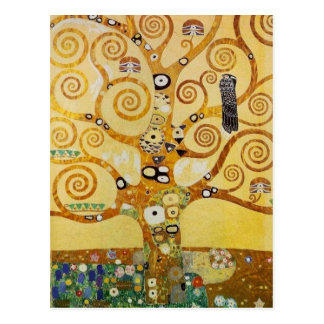 クリムトによる生命の樹 ポストカード