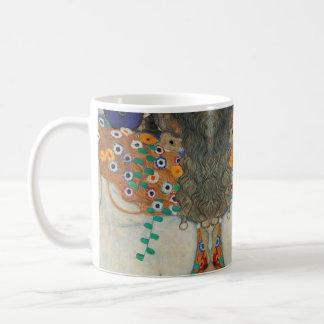 クリムトの母および子供 コーヒーマグカップ