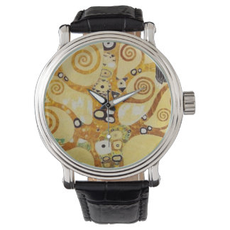 クリムト、生命の樹 腕時計
