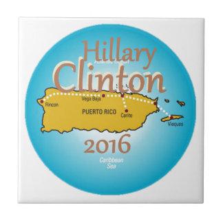 クリントンプエルトリコ2016年 タイル