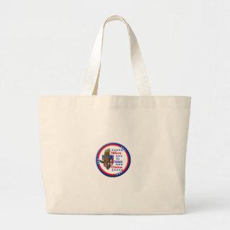 クリントンワシのバッグ ラージトートバッグ